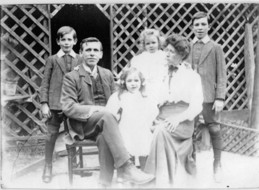 Walter Frederick Miller and family c. 1911