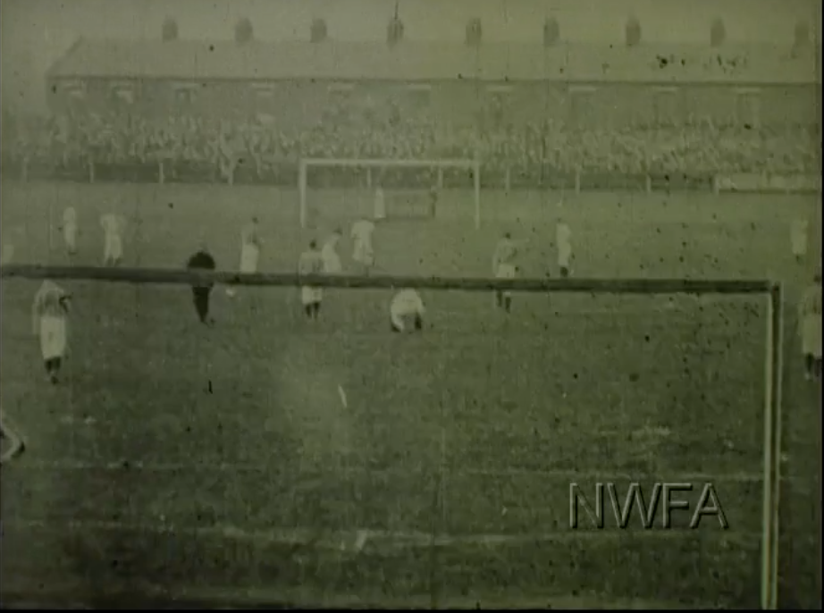 1898 Blackburn v West Brom courtesy of NW Film Archive