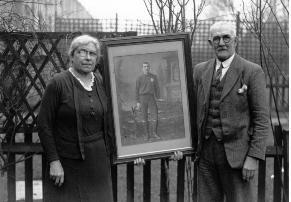 3rd February 1938 Golden wedding anniversary
