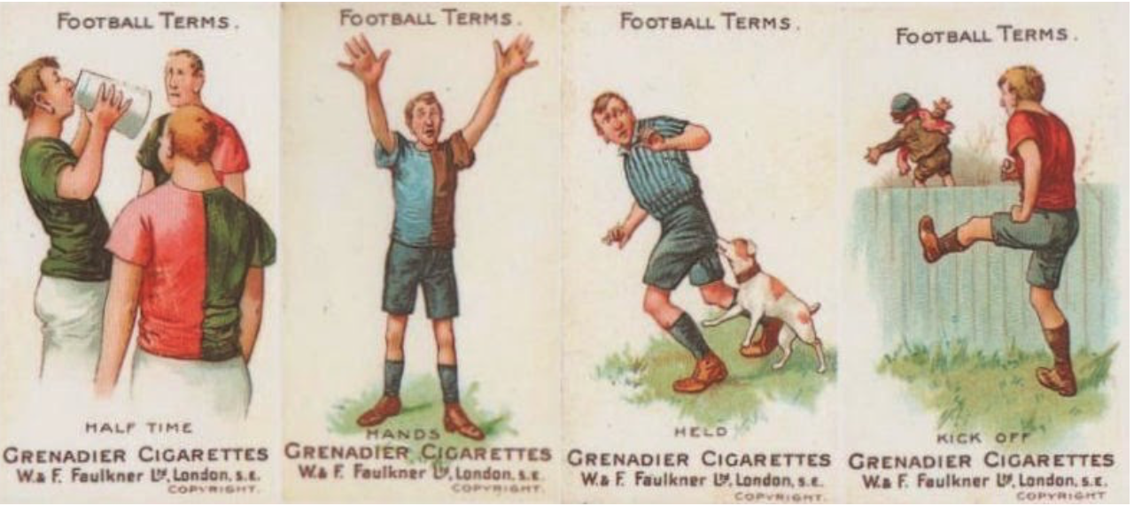 Cigarette cards 1895 2