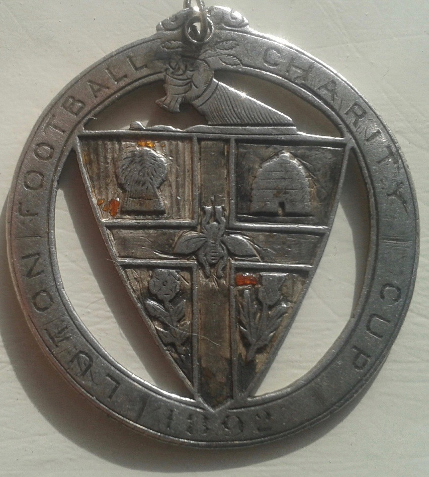 Luton Charity Cup medal 1892