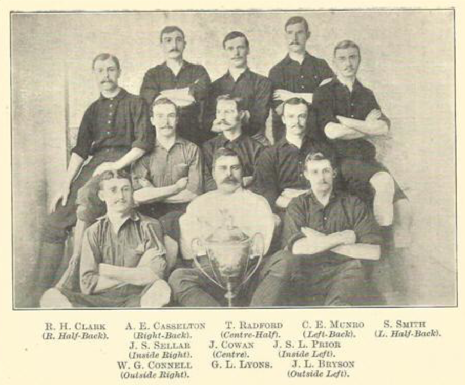 Clapton, London Senior Cup winners 1889