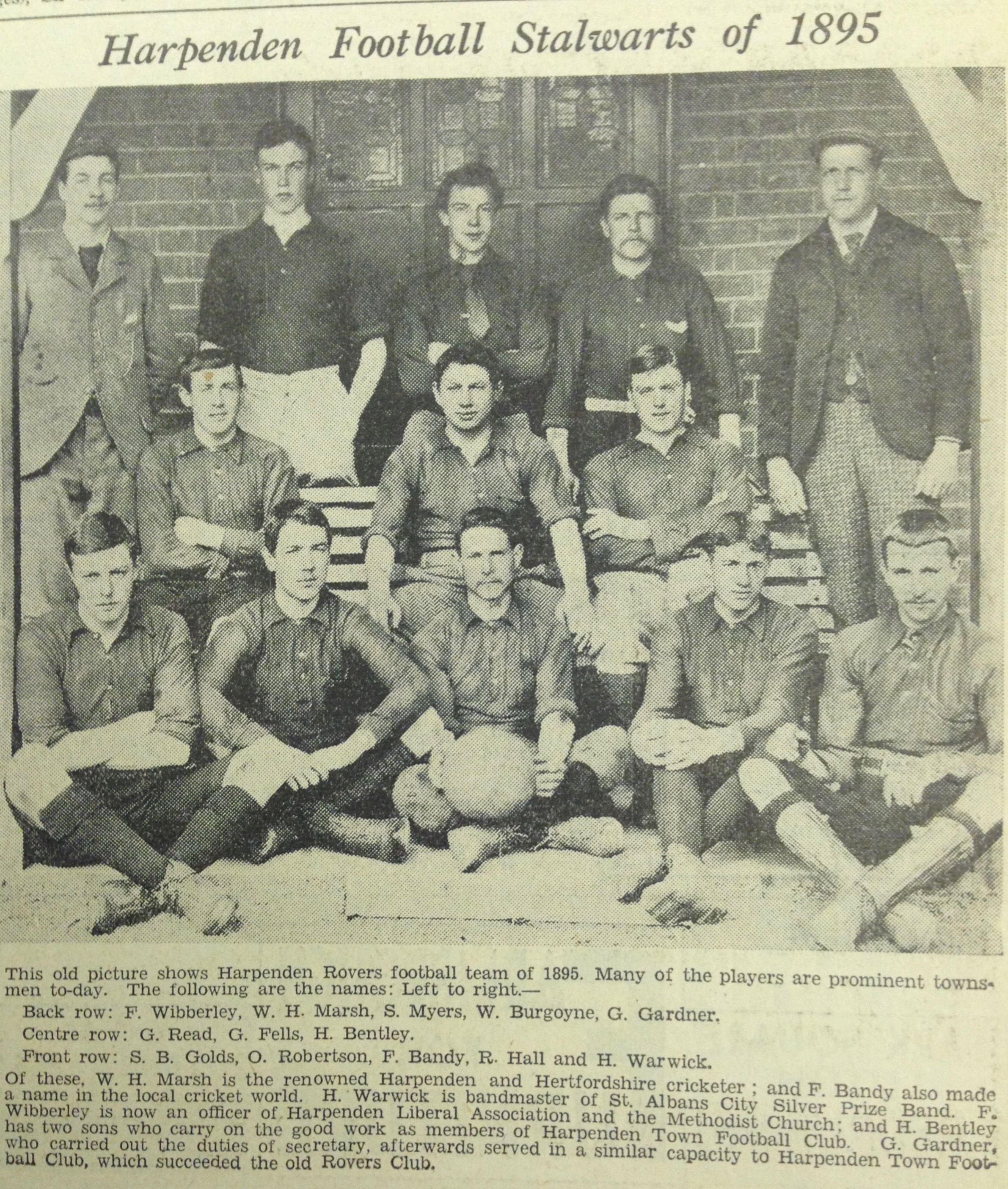 Harpenden Rovers 1895