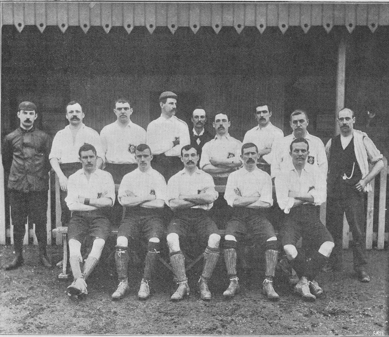 Luton Town 1896:97 - taken Feb 1897