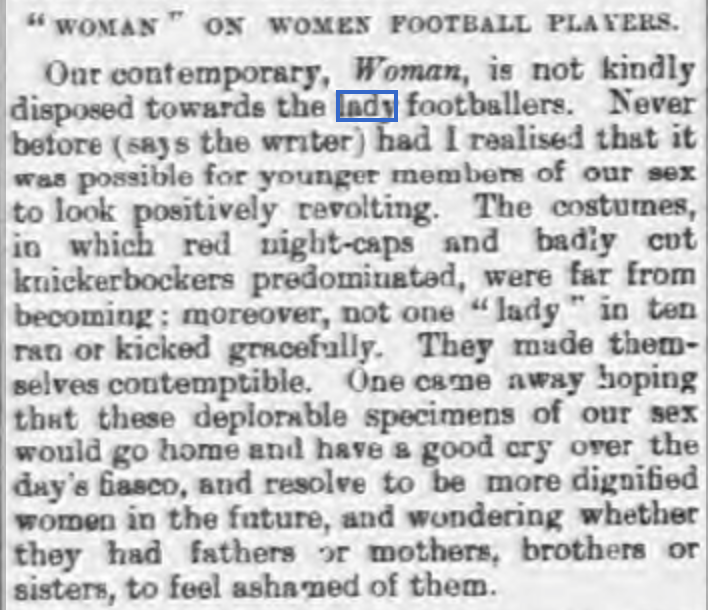 Luton Times 5th April 1895