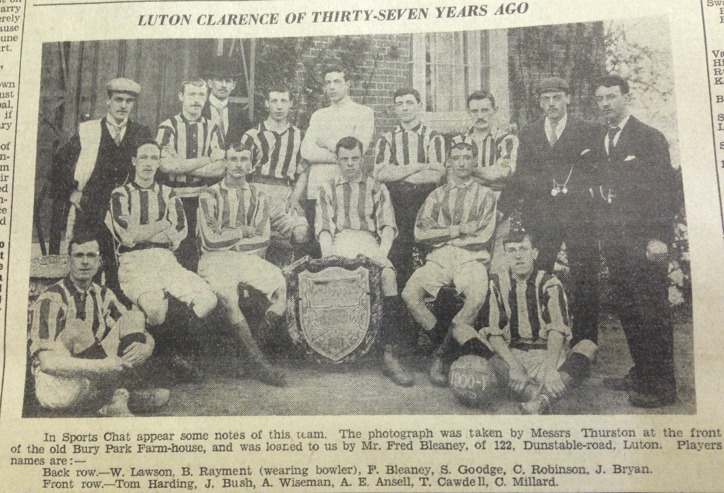 Luton Clarence 1900:01