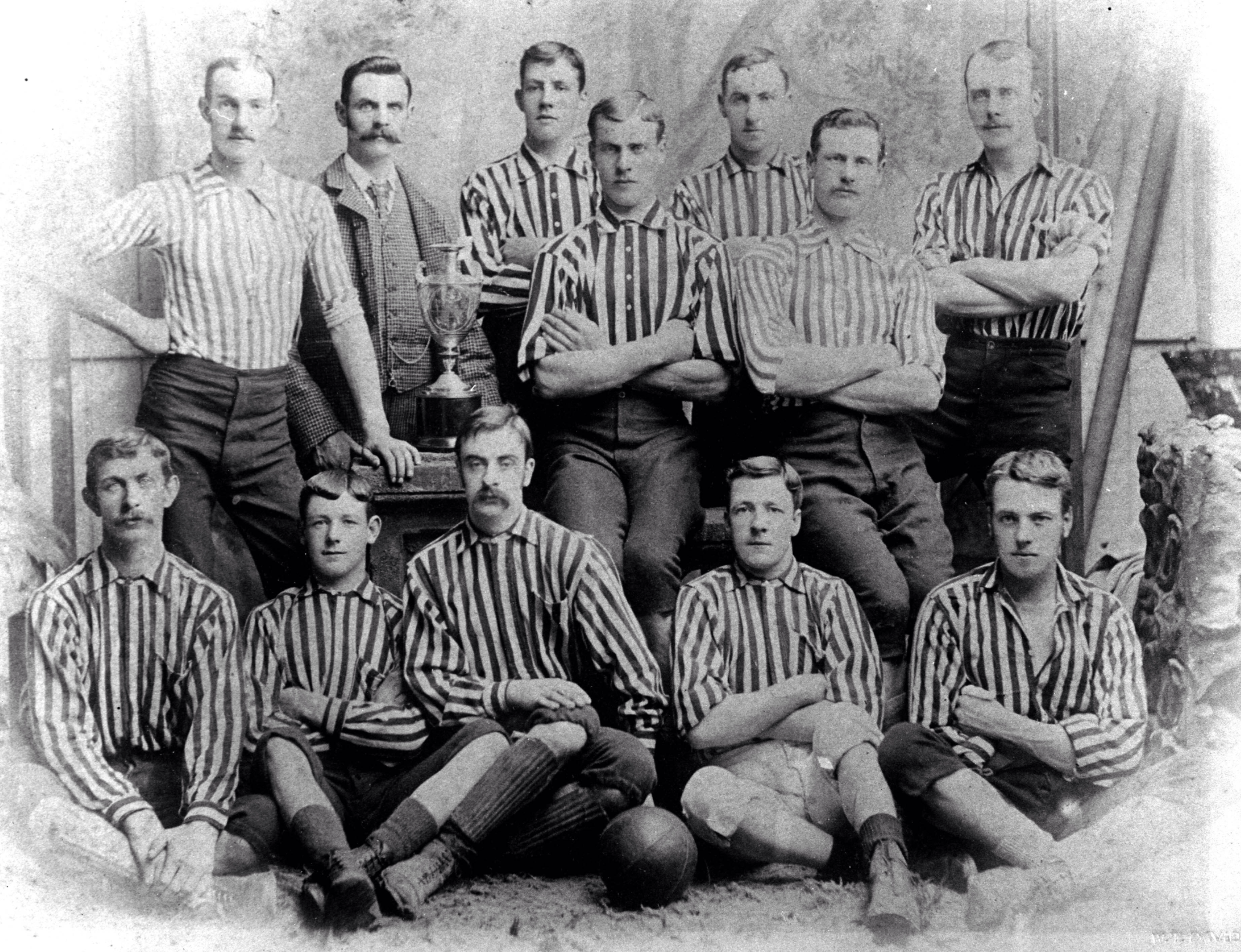 Moffat United Scotland around 1894