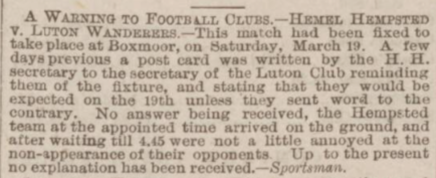 Northampton Mercury 2nd April 1887