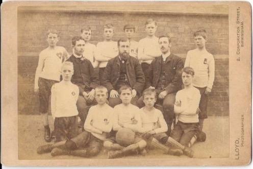 Unknown school team 1880's