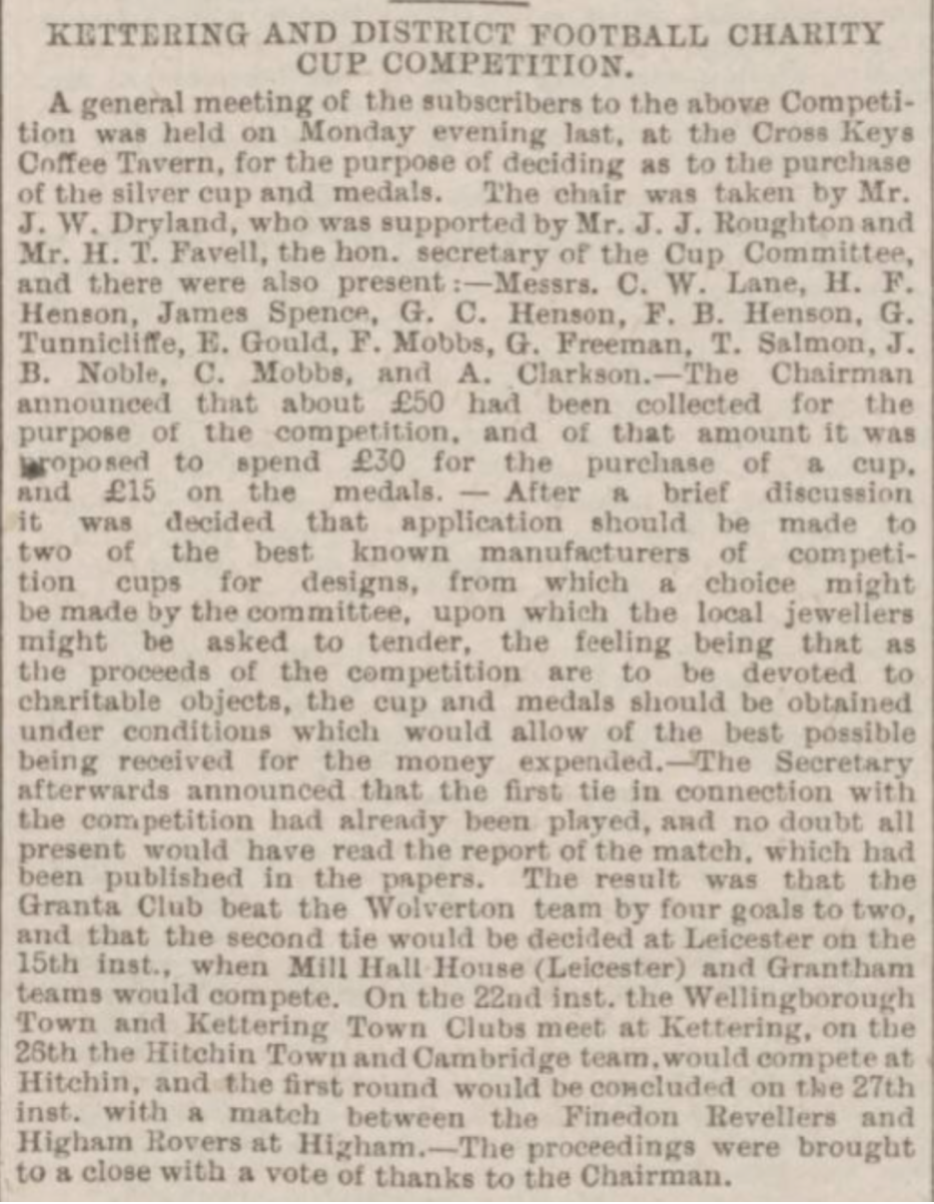 Northampton Mercury 6th October 1888 1