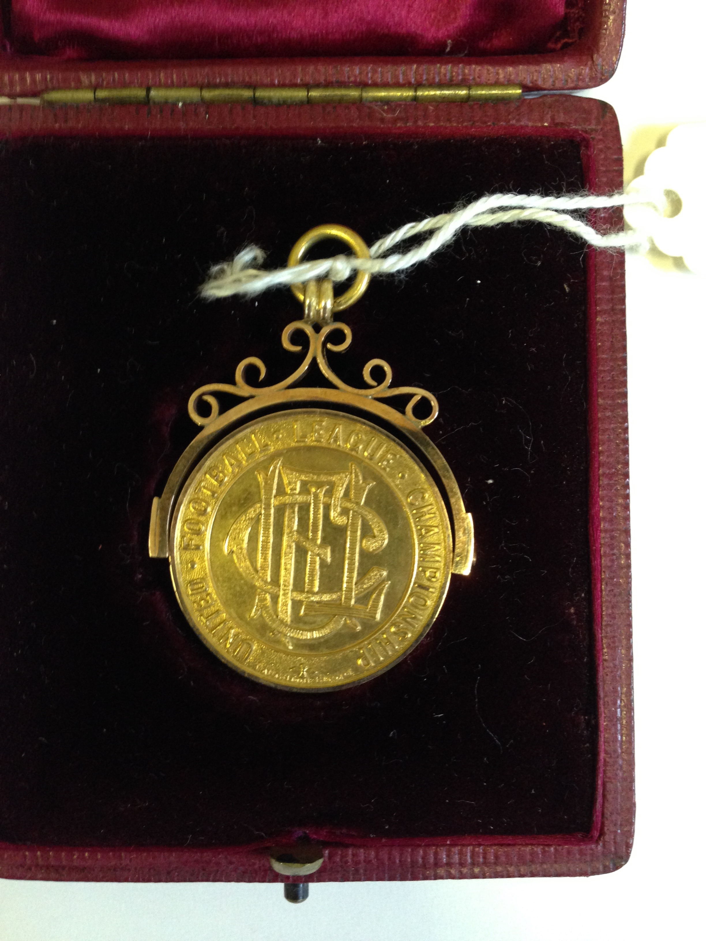 United League champions medal 1897