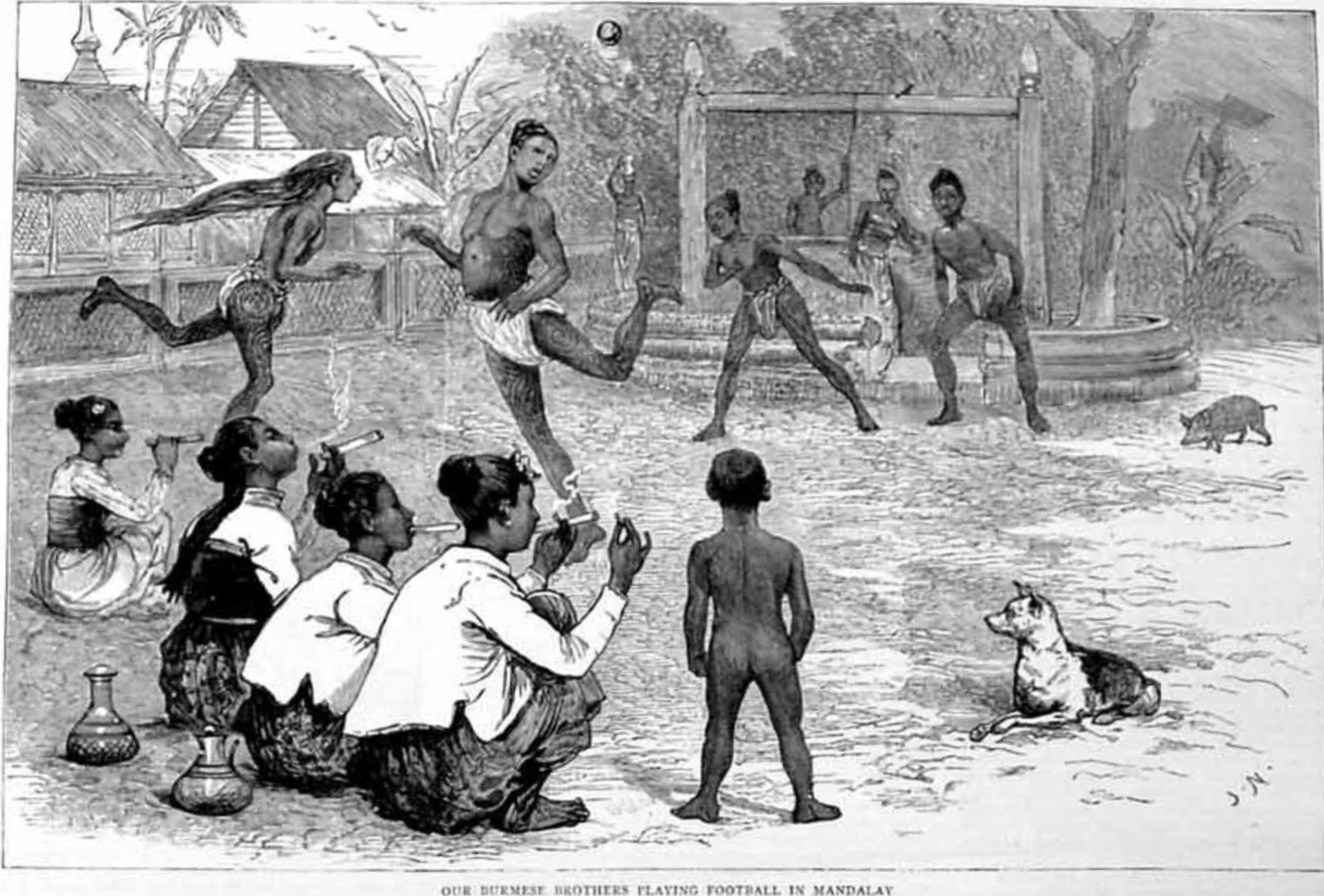 The Graphic April 1886 - Burma