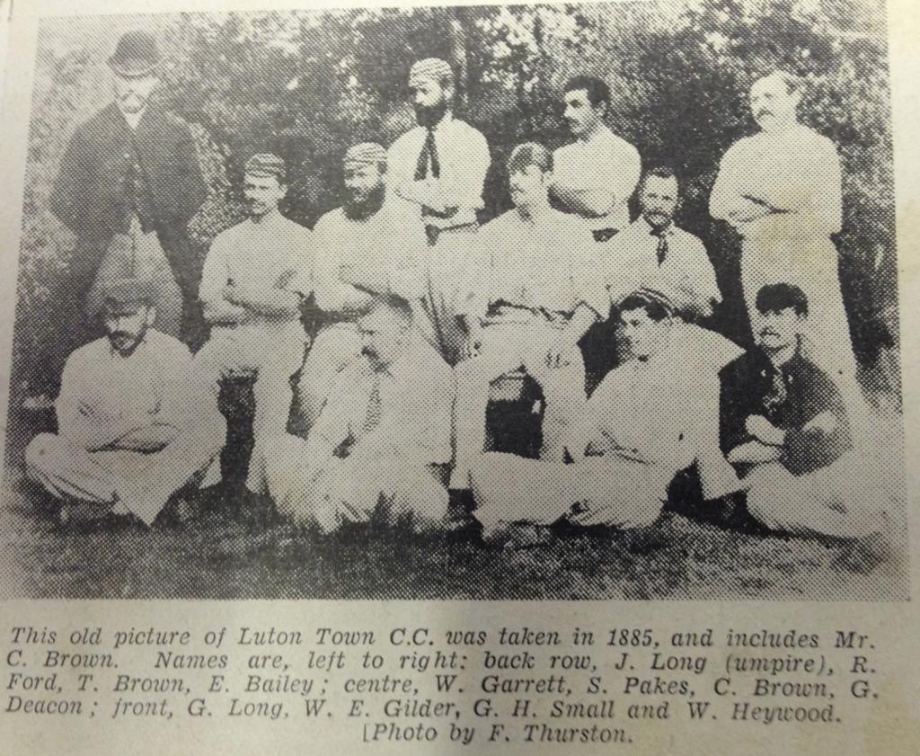 Luton Town Cricket Club 1885