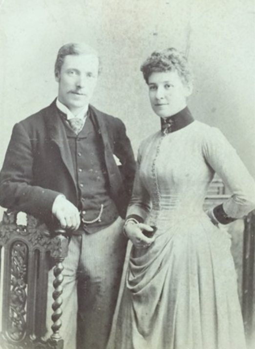 L.C.R. Thring and wife