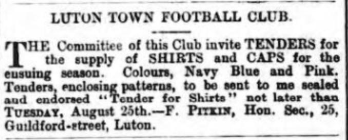 Luton Times 21:8:1885