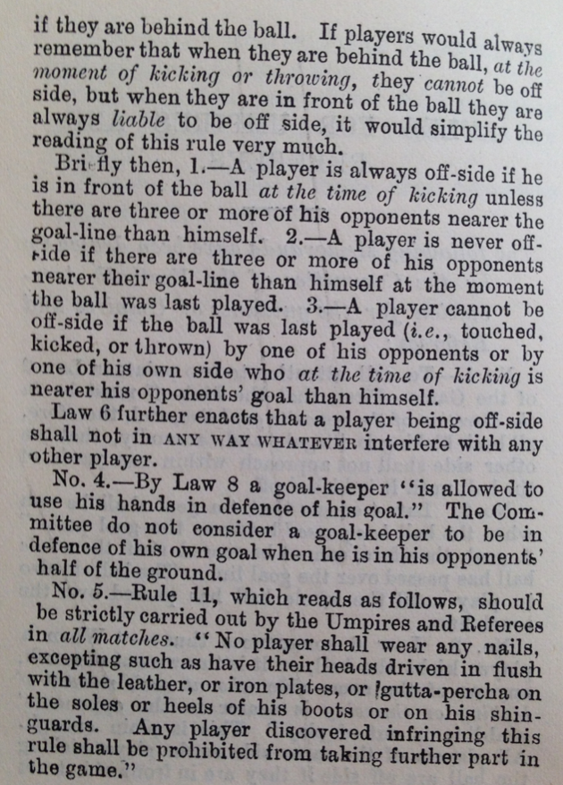 Rules for umpires and refs 2