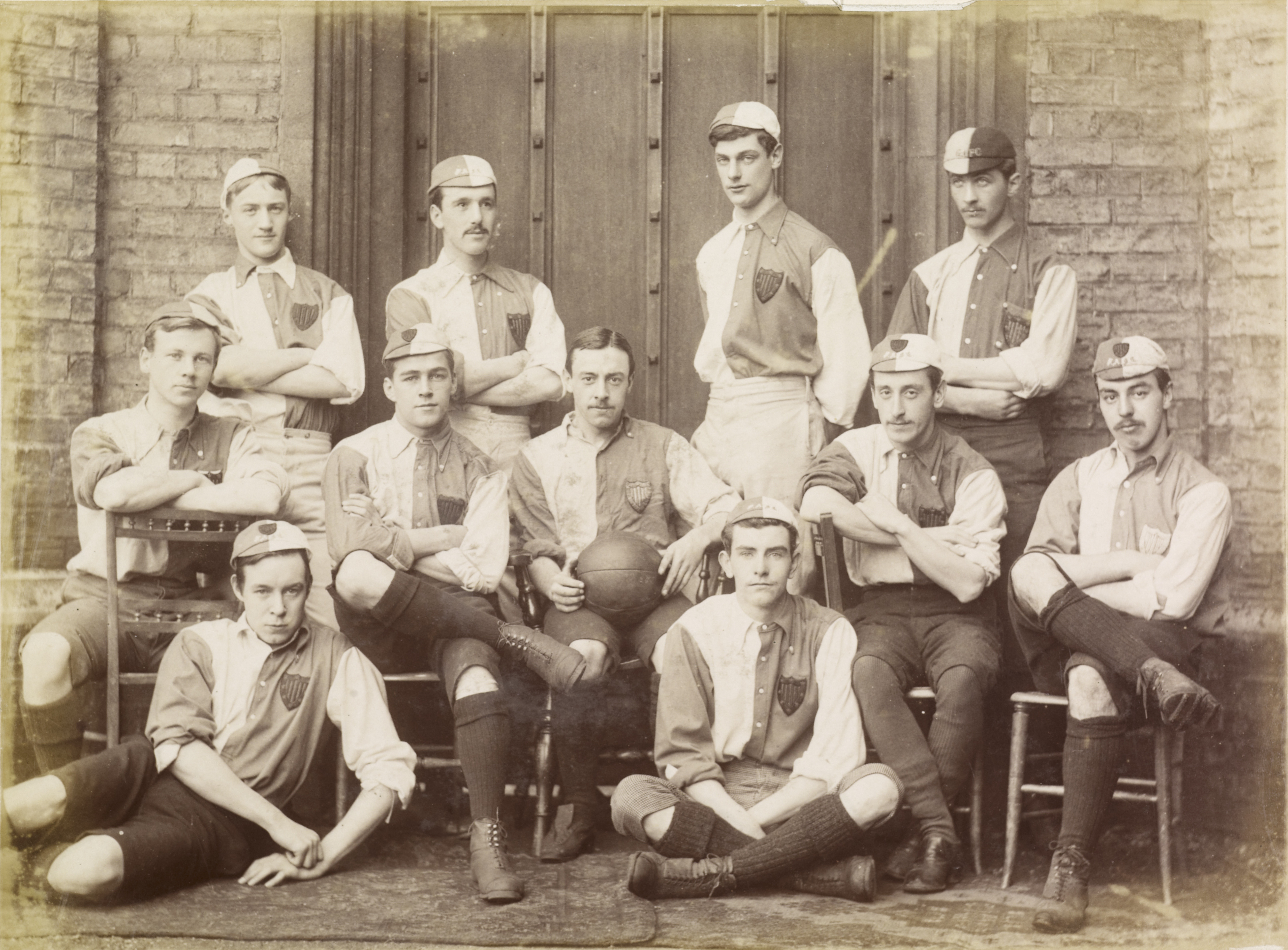 Peterhouse Association Football Team Autumn 1886