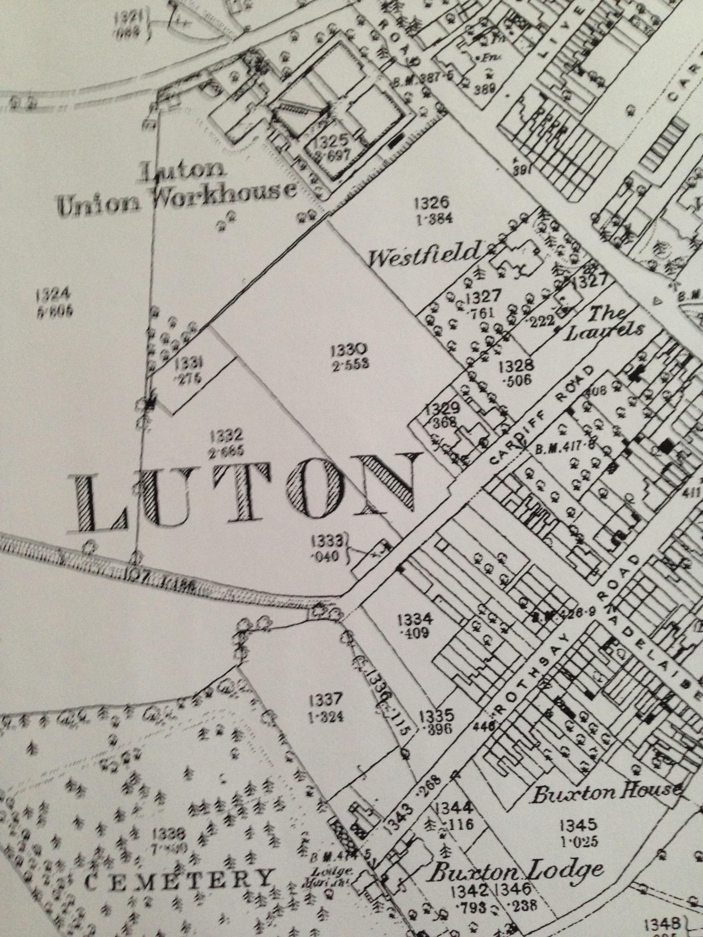 Cardiff Road, Luton 1880