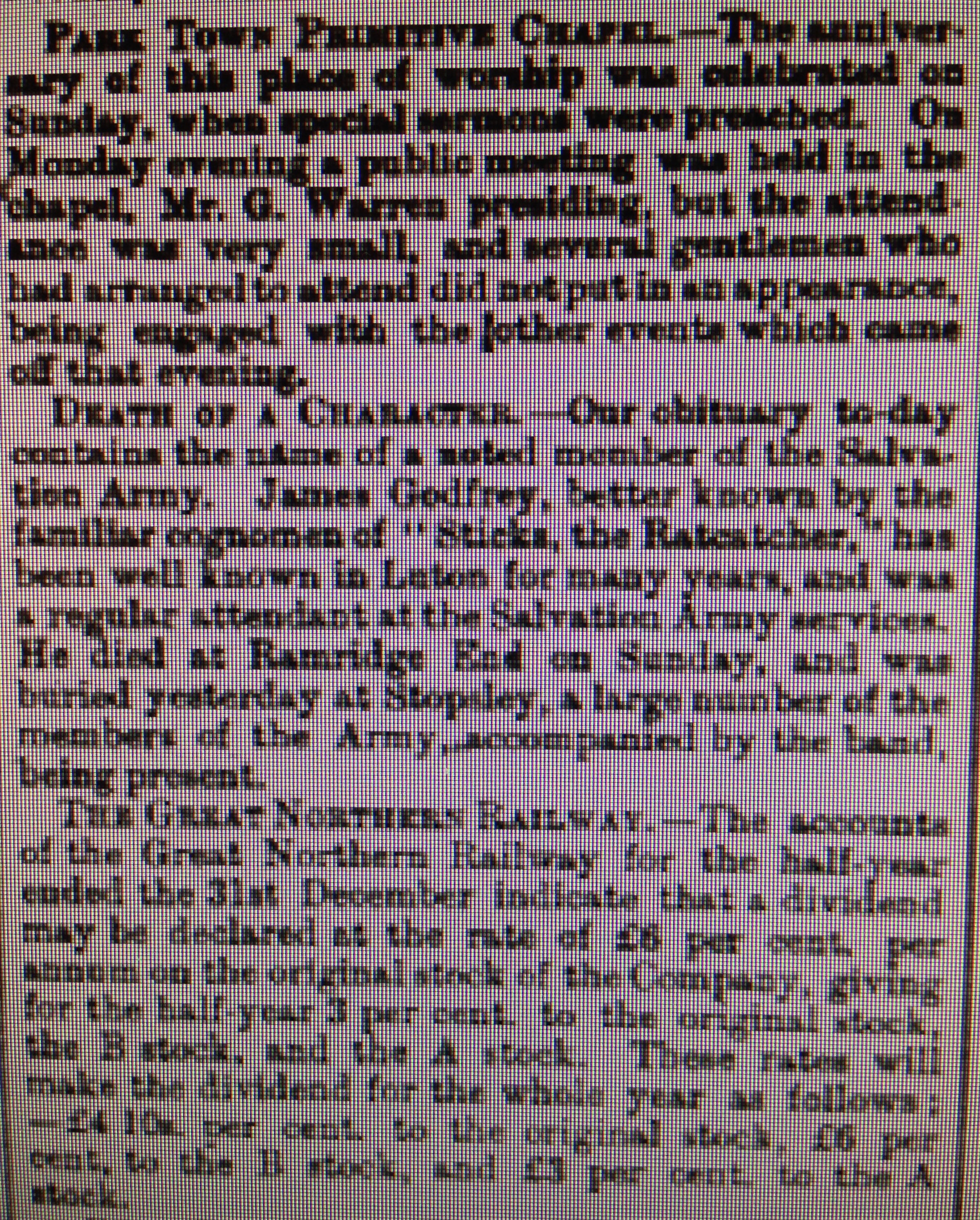 Luton Reporter 12/2/1886
