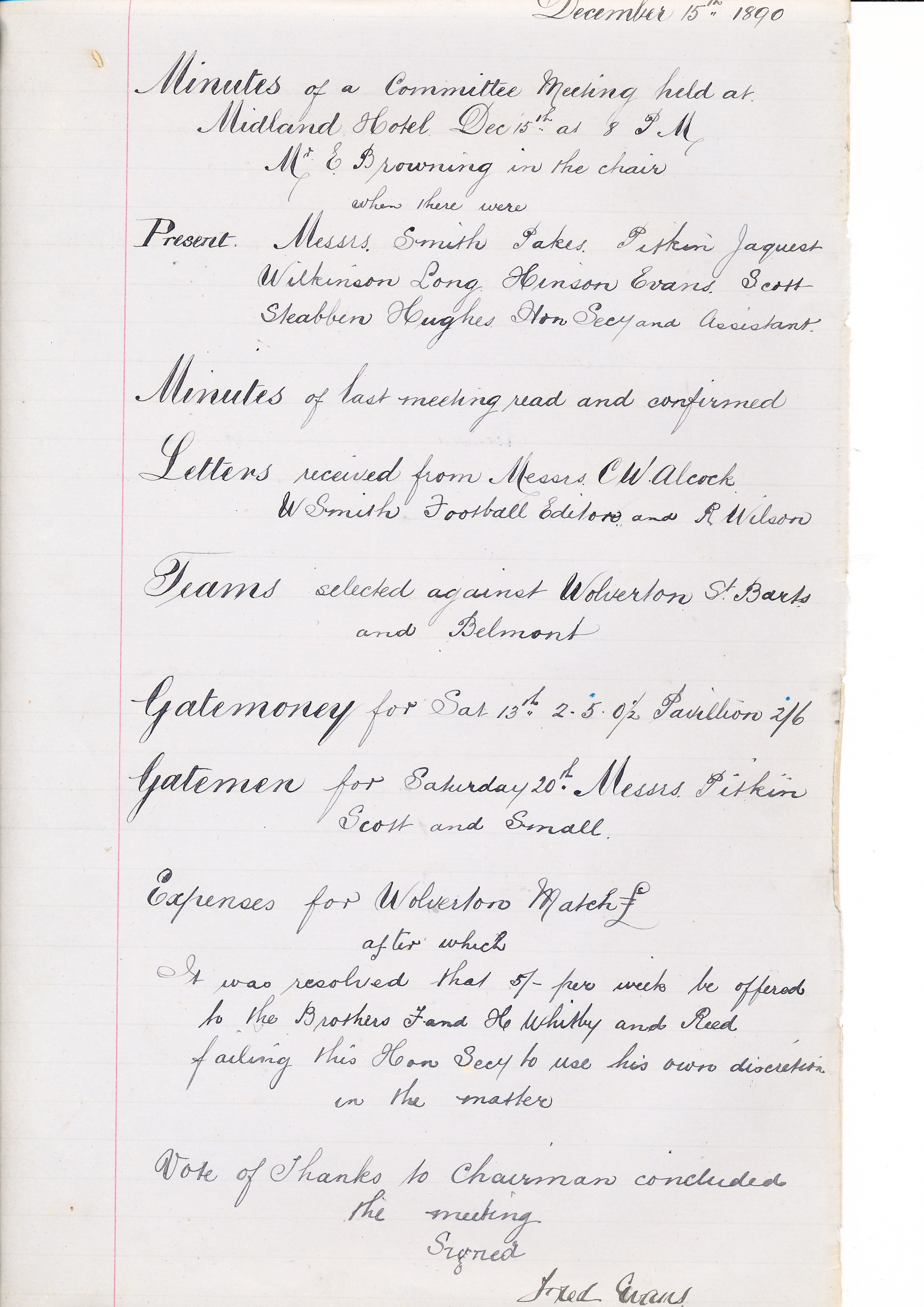 ltfc-minute-book-15th-december-1890