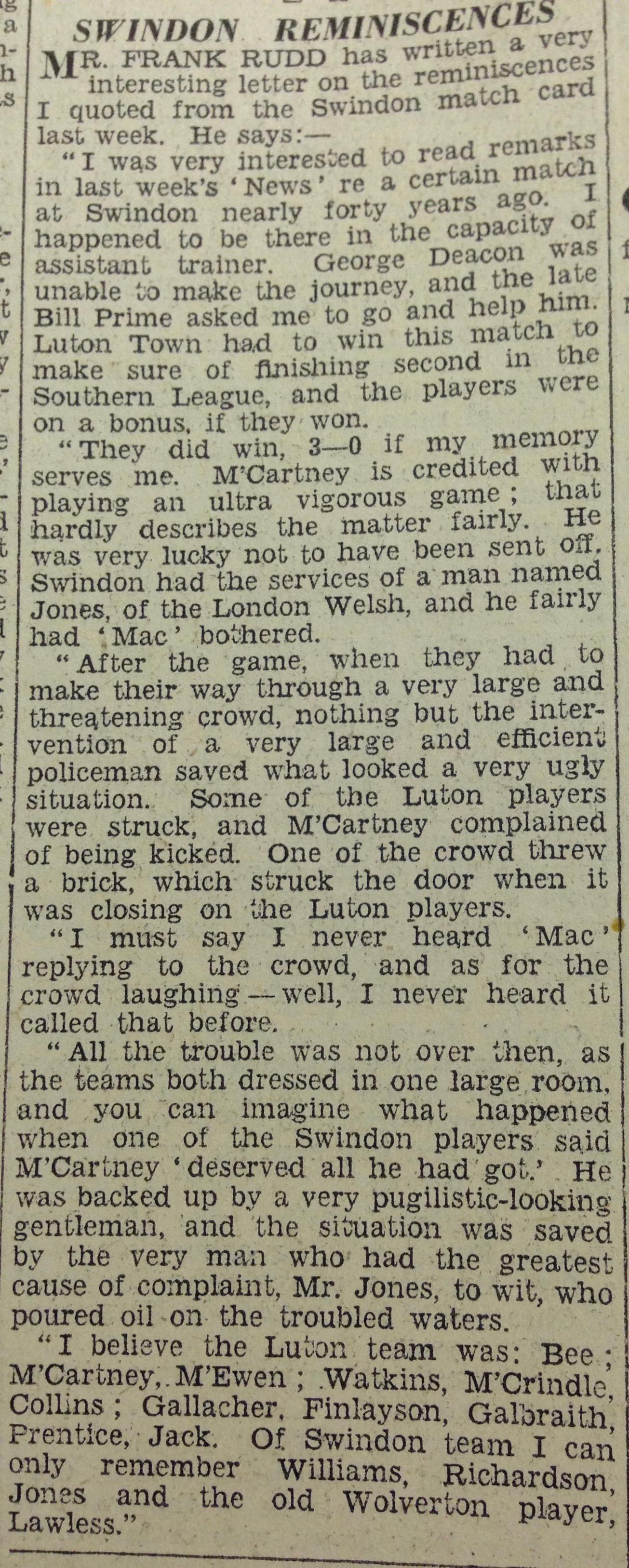 Luton News 28th ebruary 1935