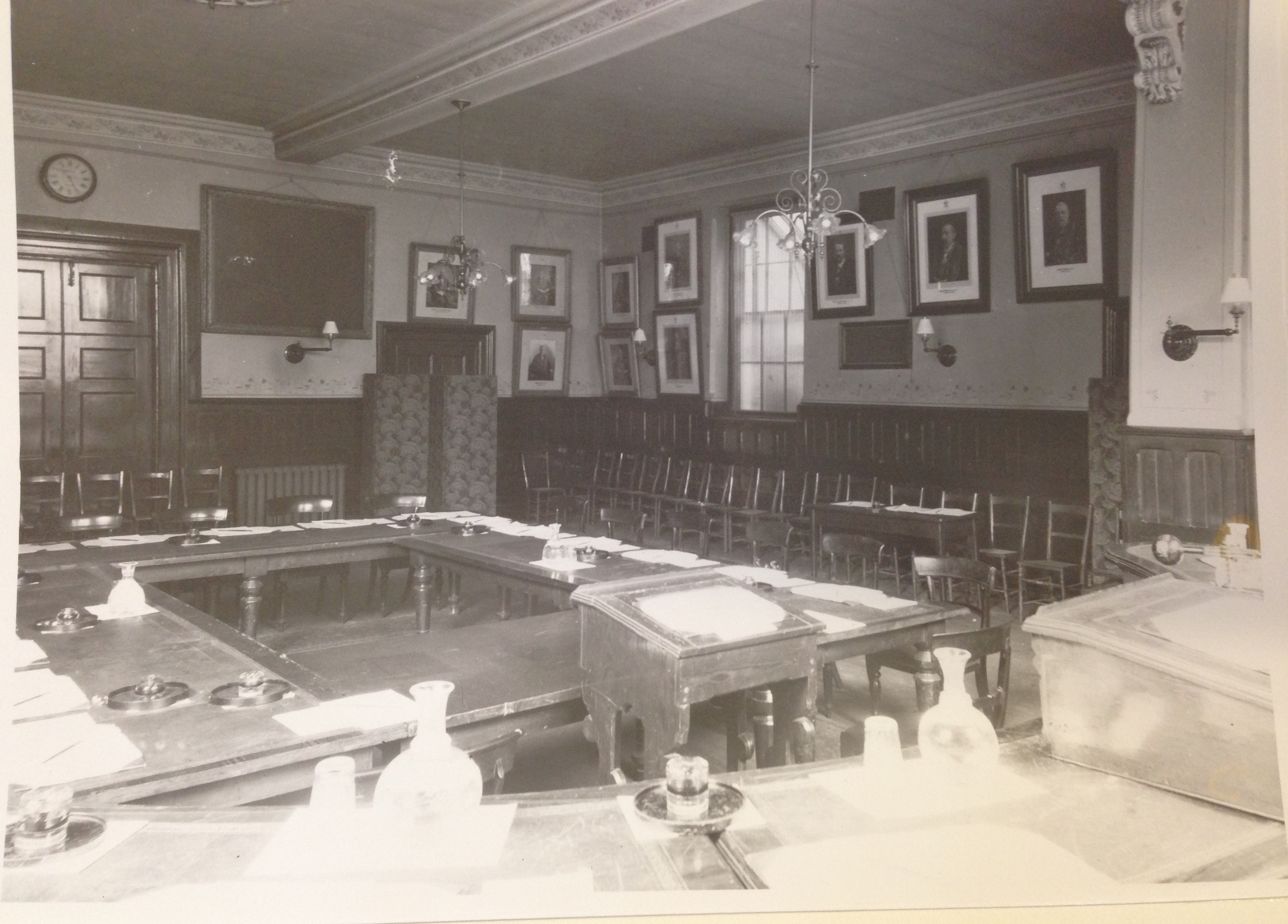 Luton Town Hall Council Chamber