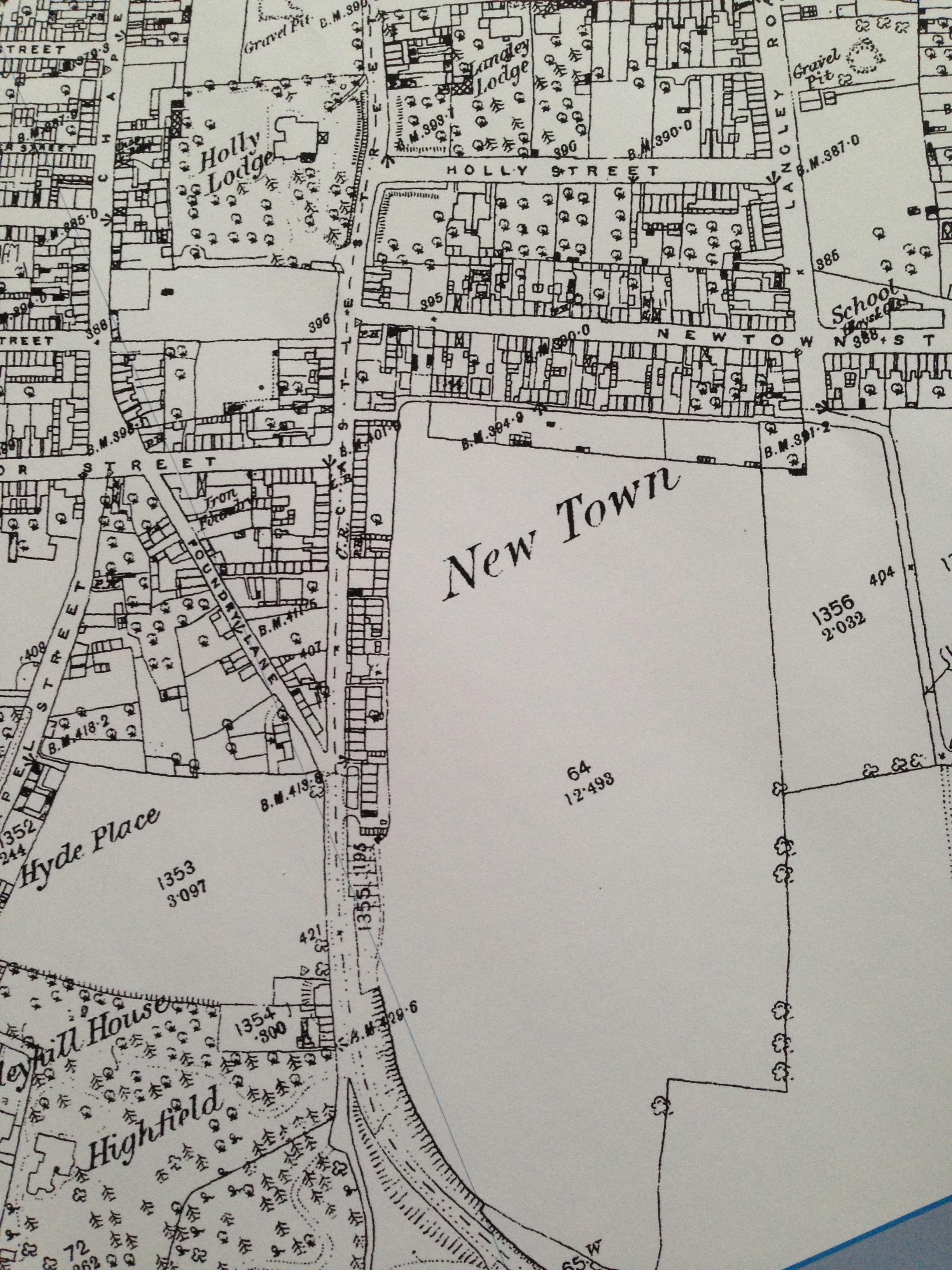 Richard III Meadow, Luton 1880