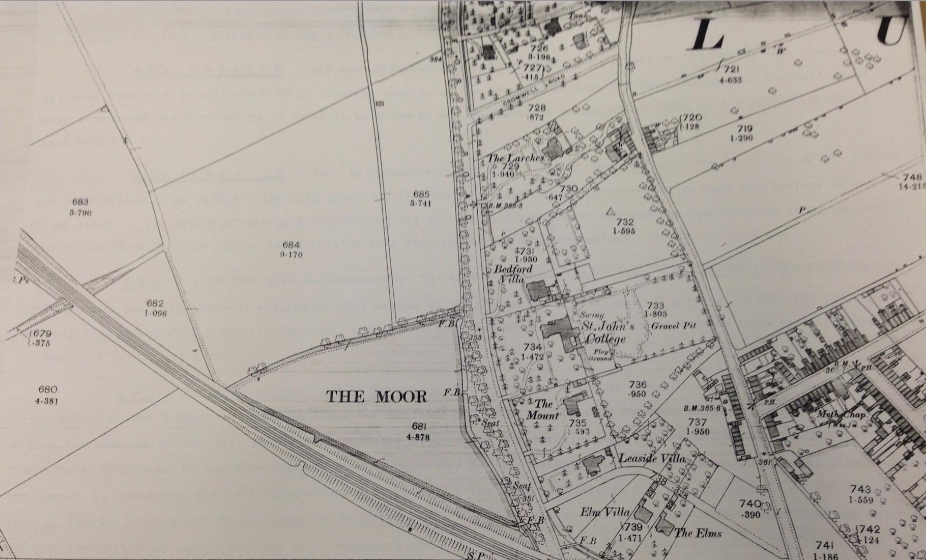 The Moor, Luton 1880