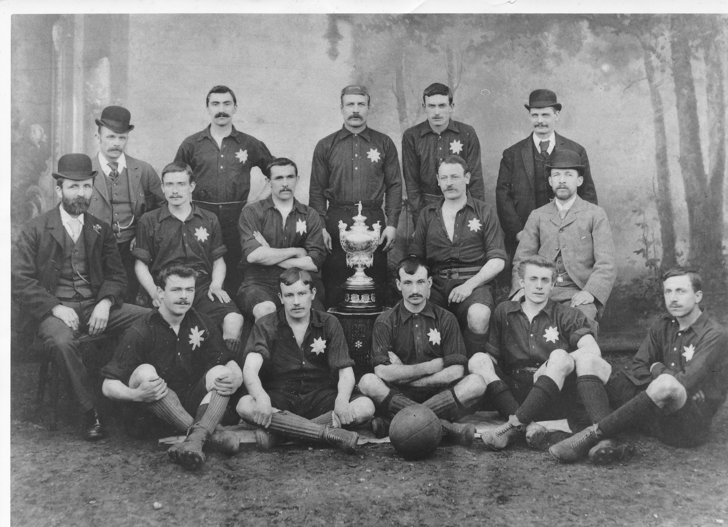 Luton Town F.C. 1894 with Luton Charity Cup
