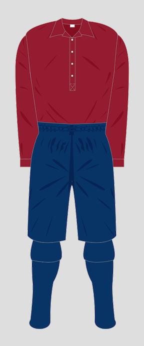 Luton Town F.C. Cardinal shirt