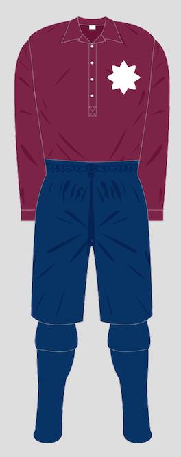 Luton Town F.C. Claret shirt