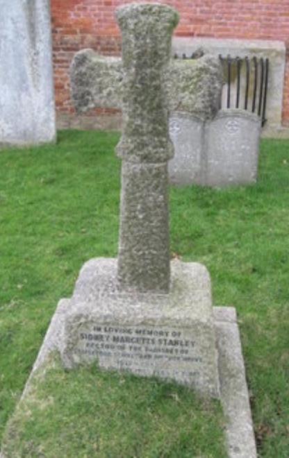 Sidney Margetts Stanley gravestone 2