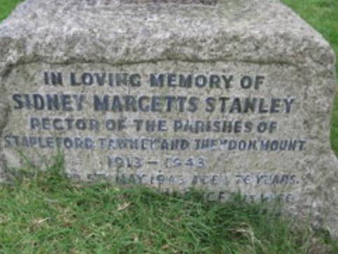 Sidney Margetts Stanley gravestone