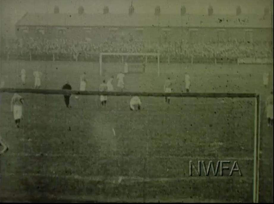 1898 Blackburn v West Brom courtesy of NW Film Archive