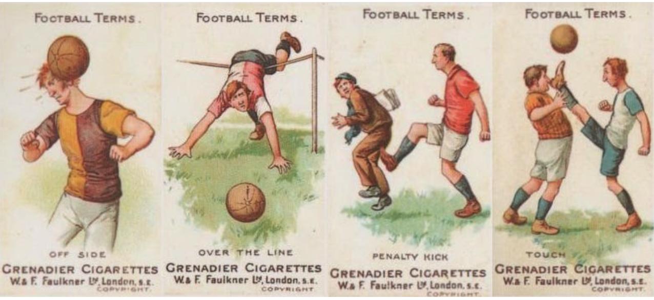 Cigarette cards 1895 1