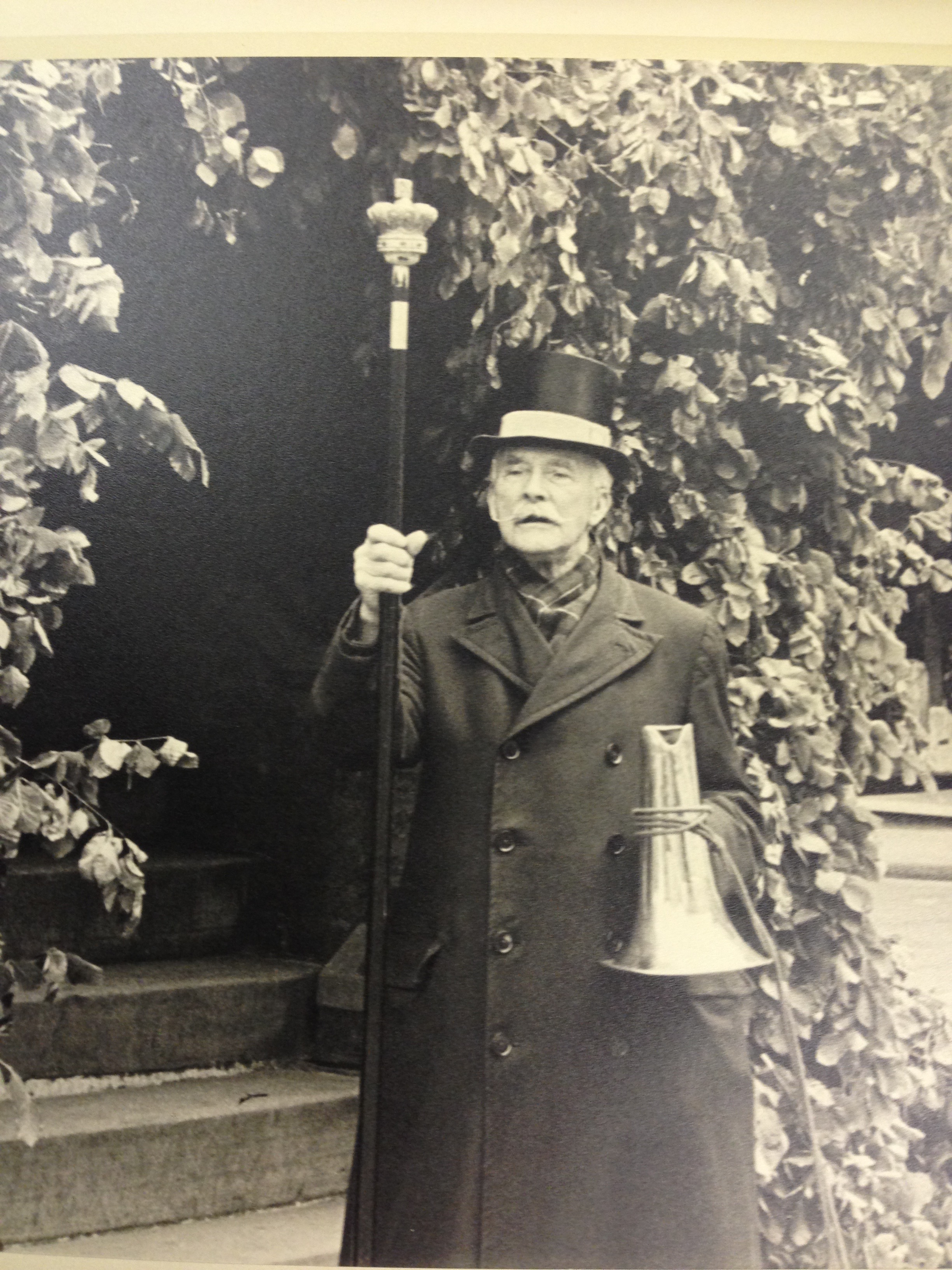 Charles Irons in later life