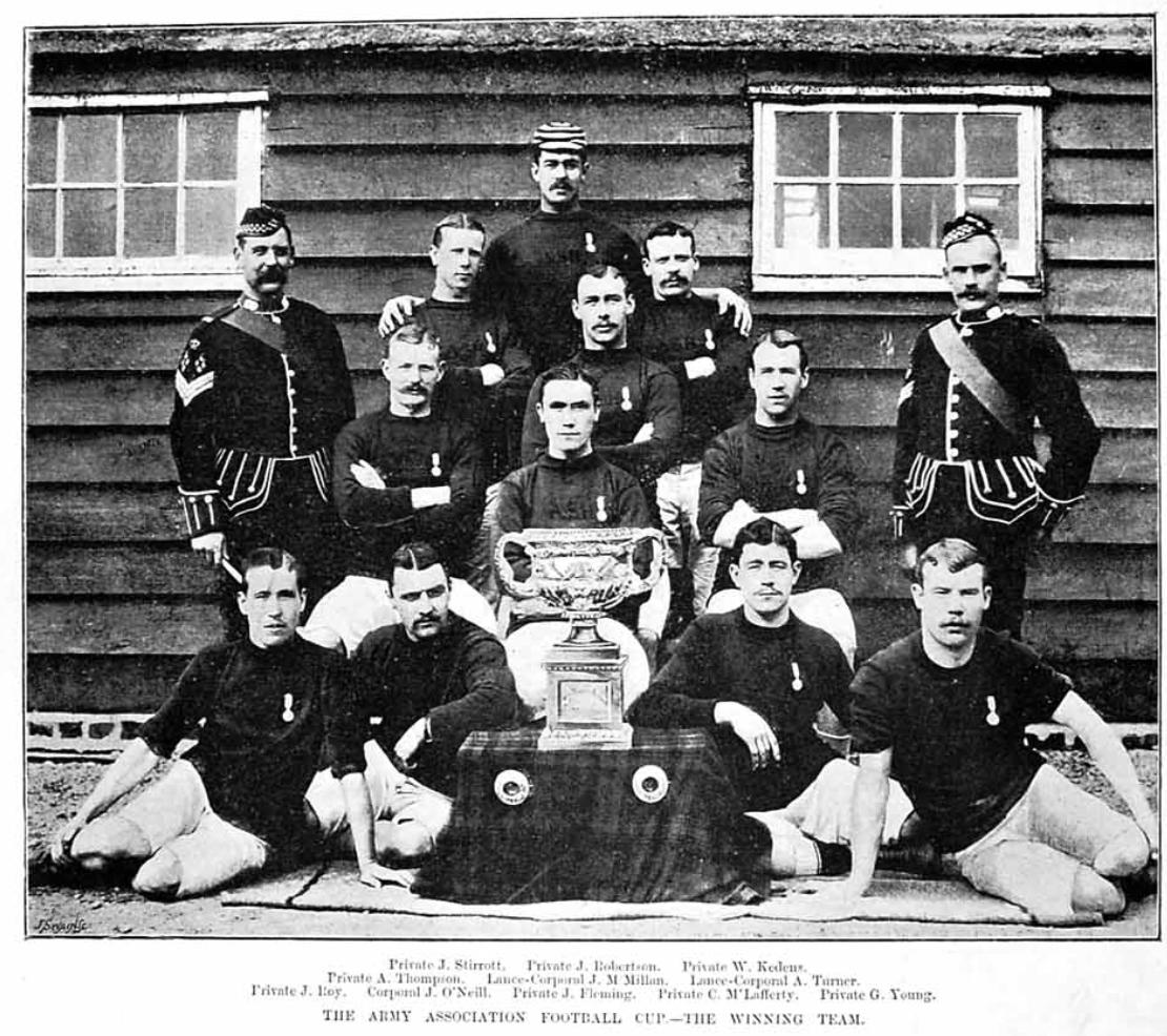 2nd Battalion Argyll and Sutherland Highlanders 1889