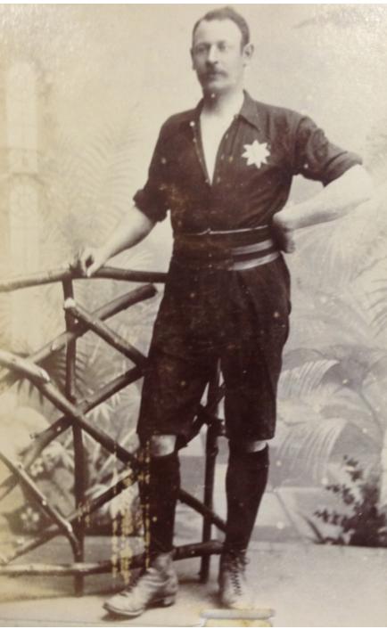 Arthur H. Taylor Luton Town captain