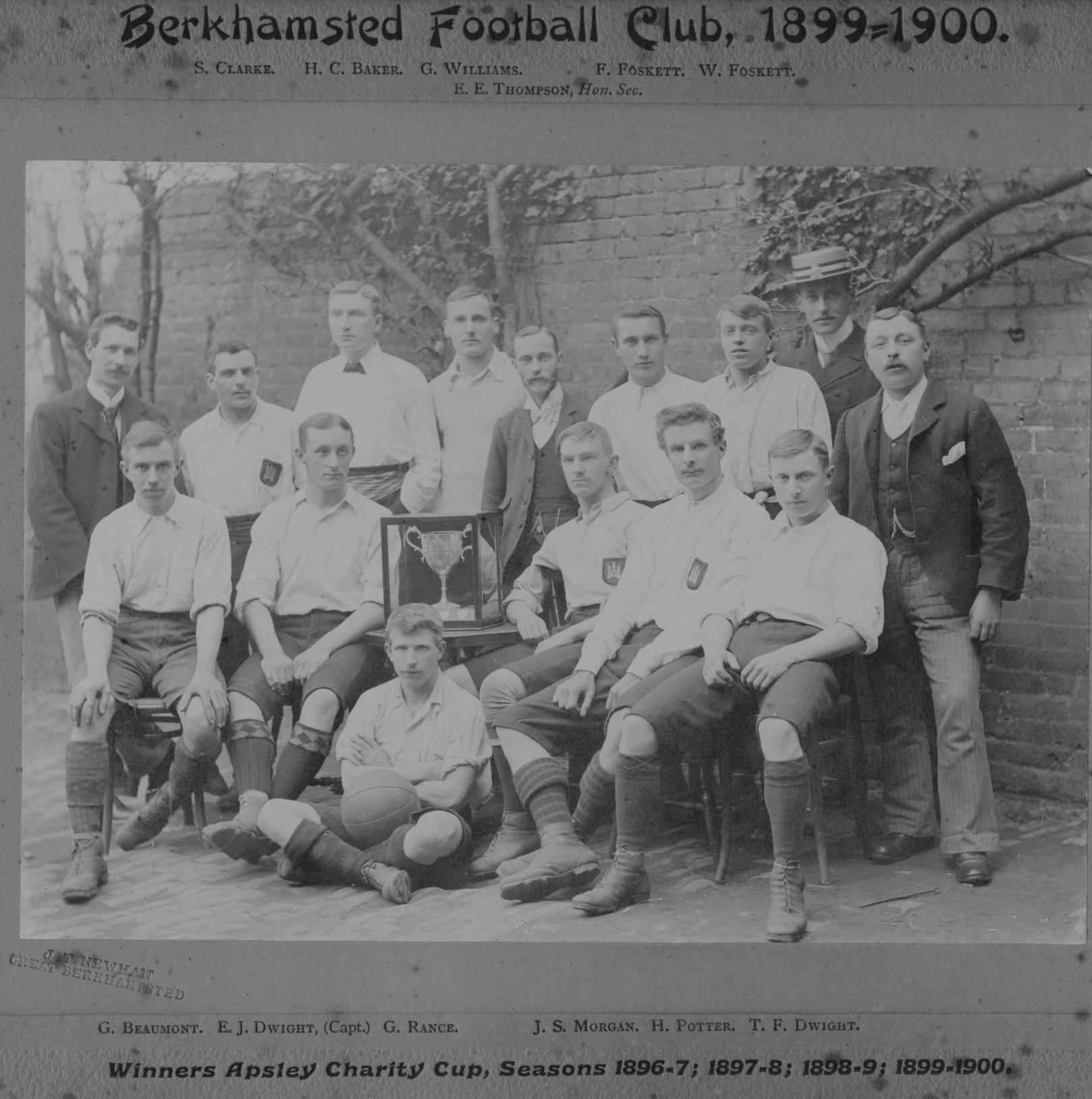 Berkhamsted F.C. 1899:00