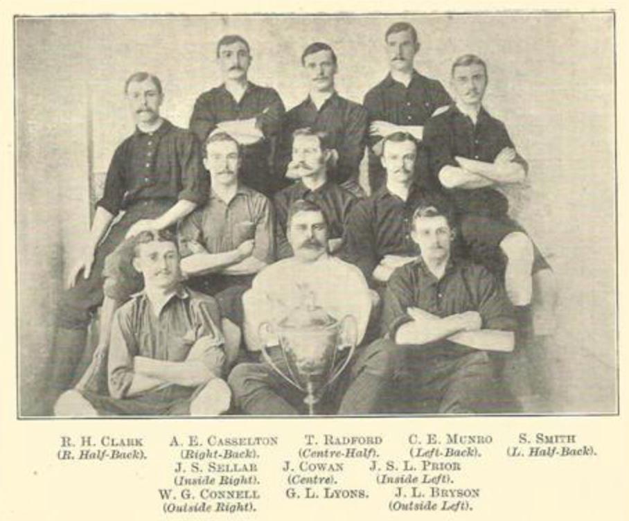 Clapton, London Senior Cup winners 1889
