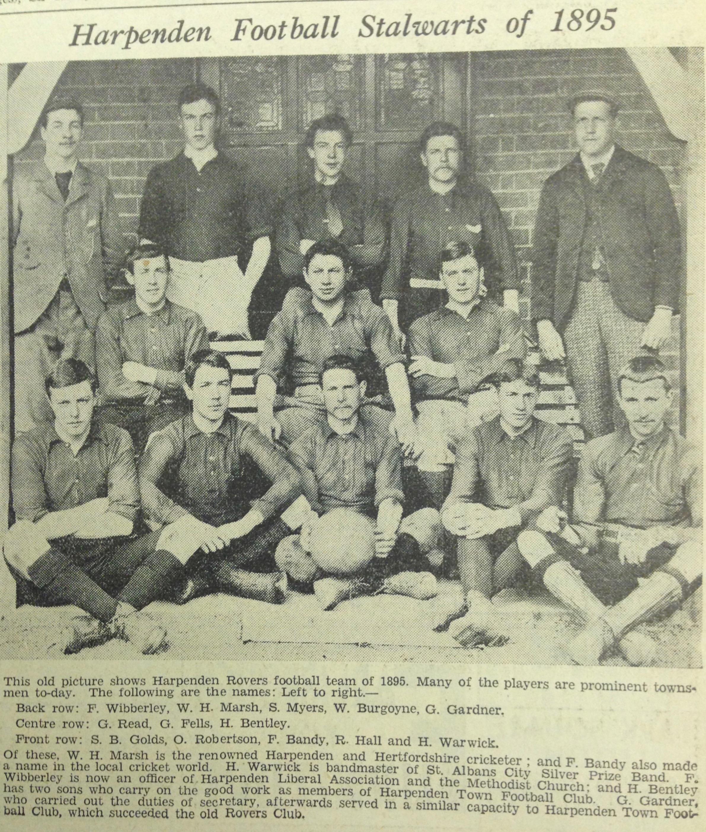 Harpenden Rovers 1895