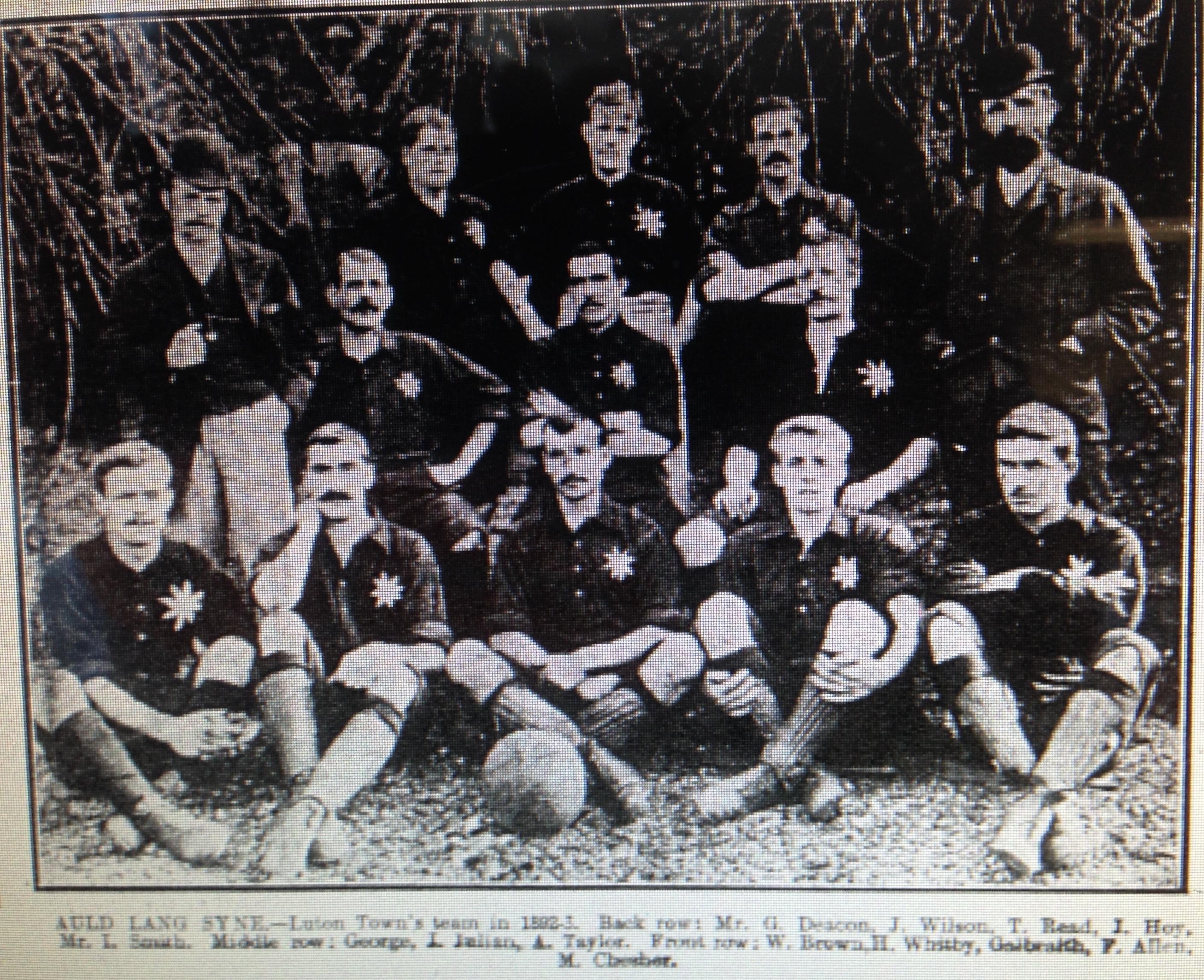 Luton Town 1892:93