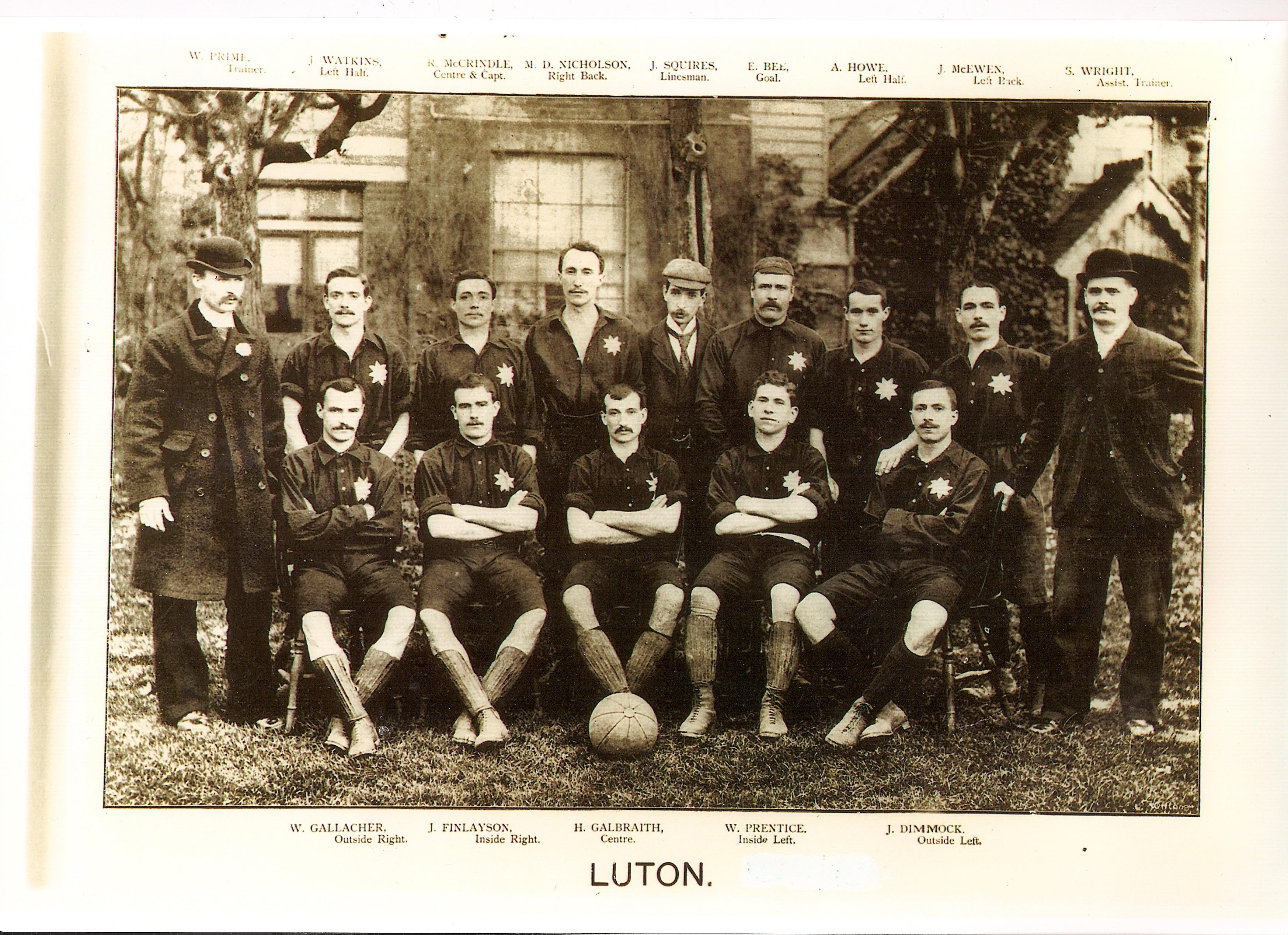 Luton Town 1894:95