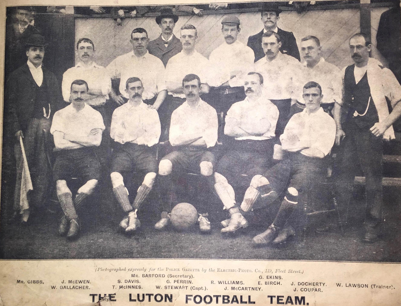 Luton Town 1896:97