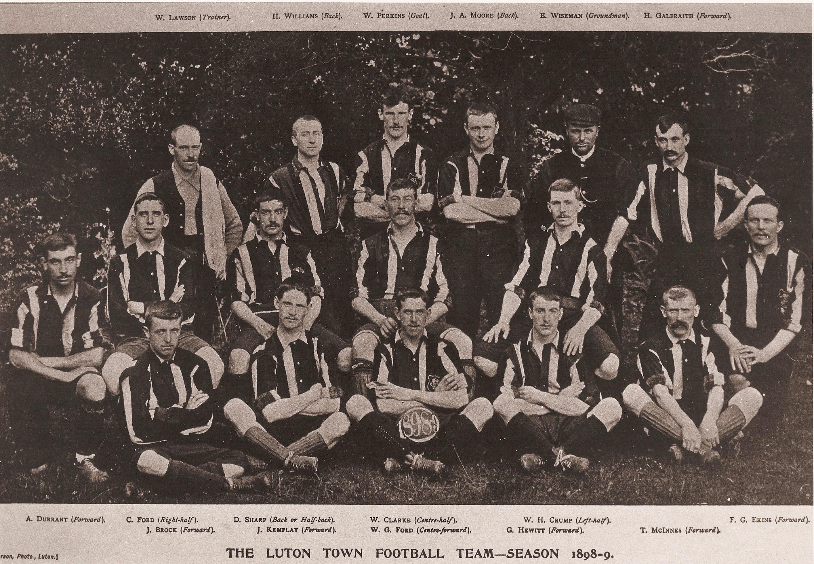 Luton Town 1898:99