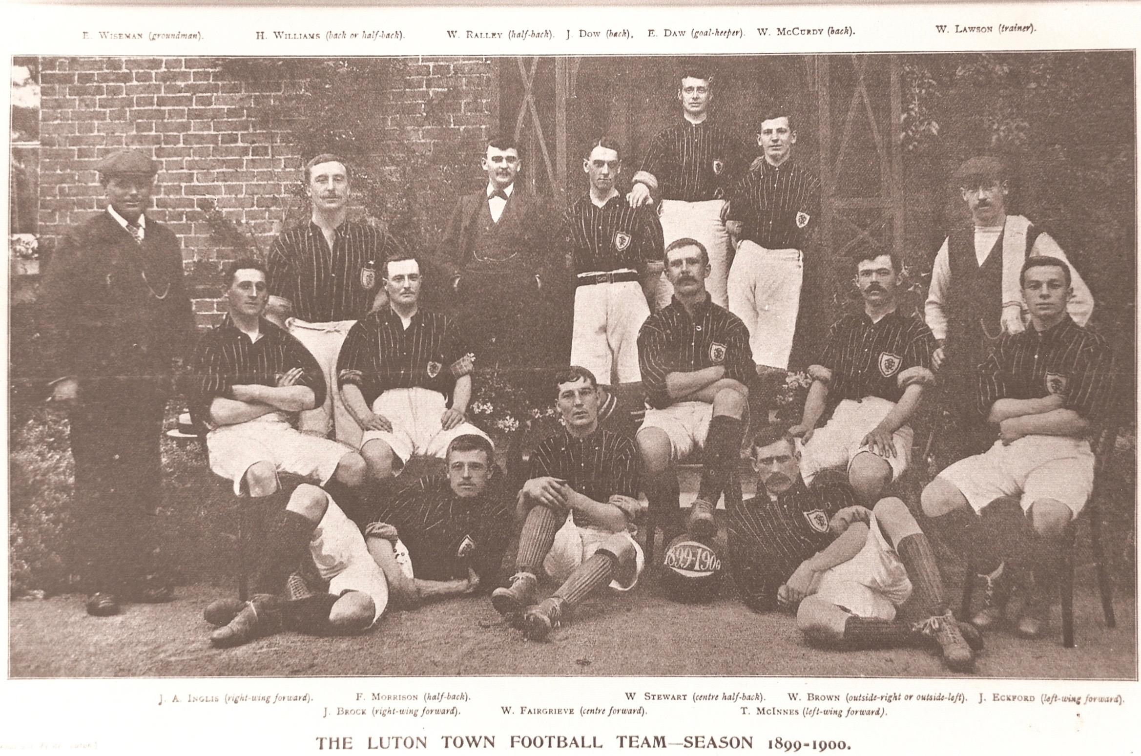 Luton Town 1899:00