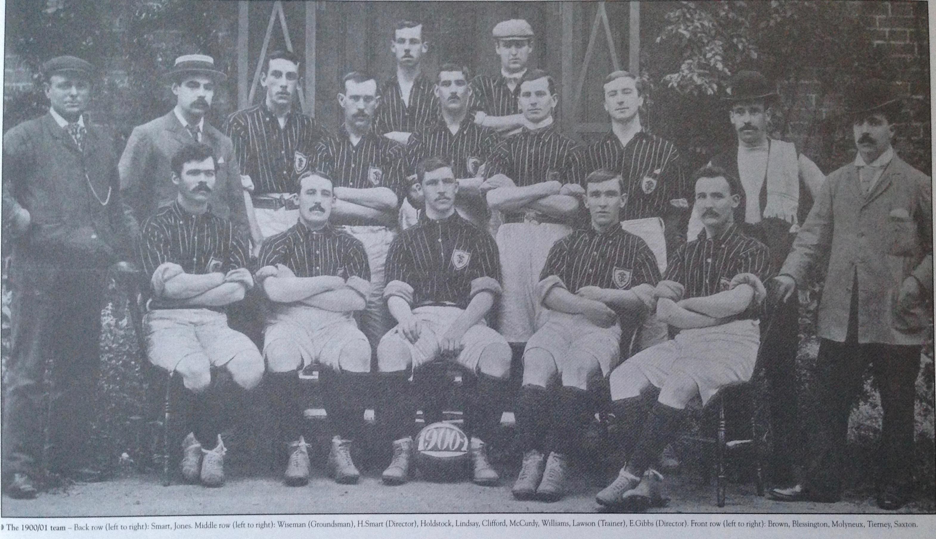Luton Town 1900:01 2