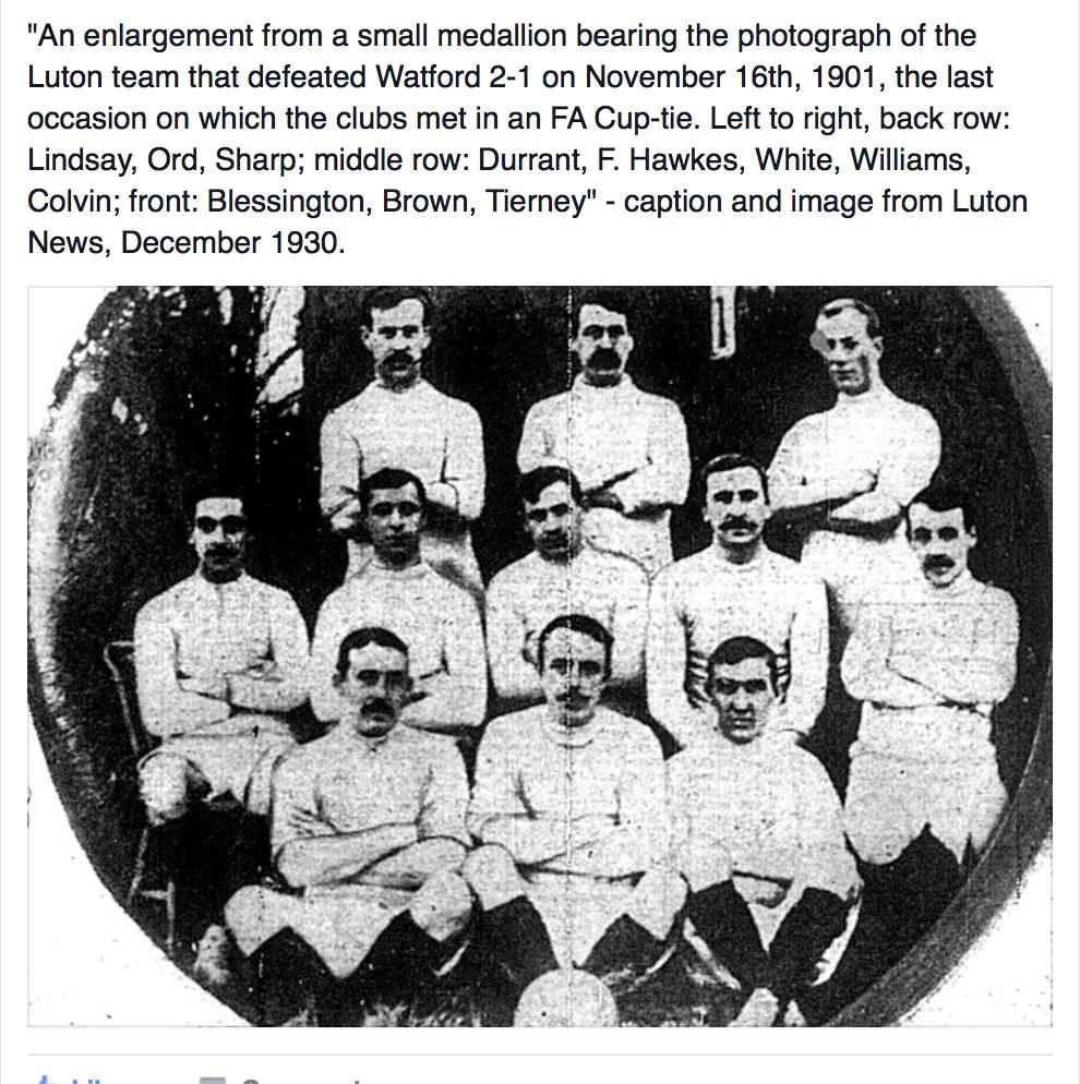 Luton Town 1901:02