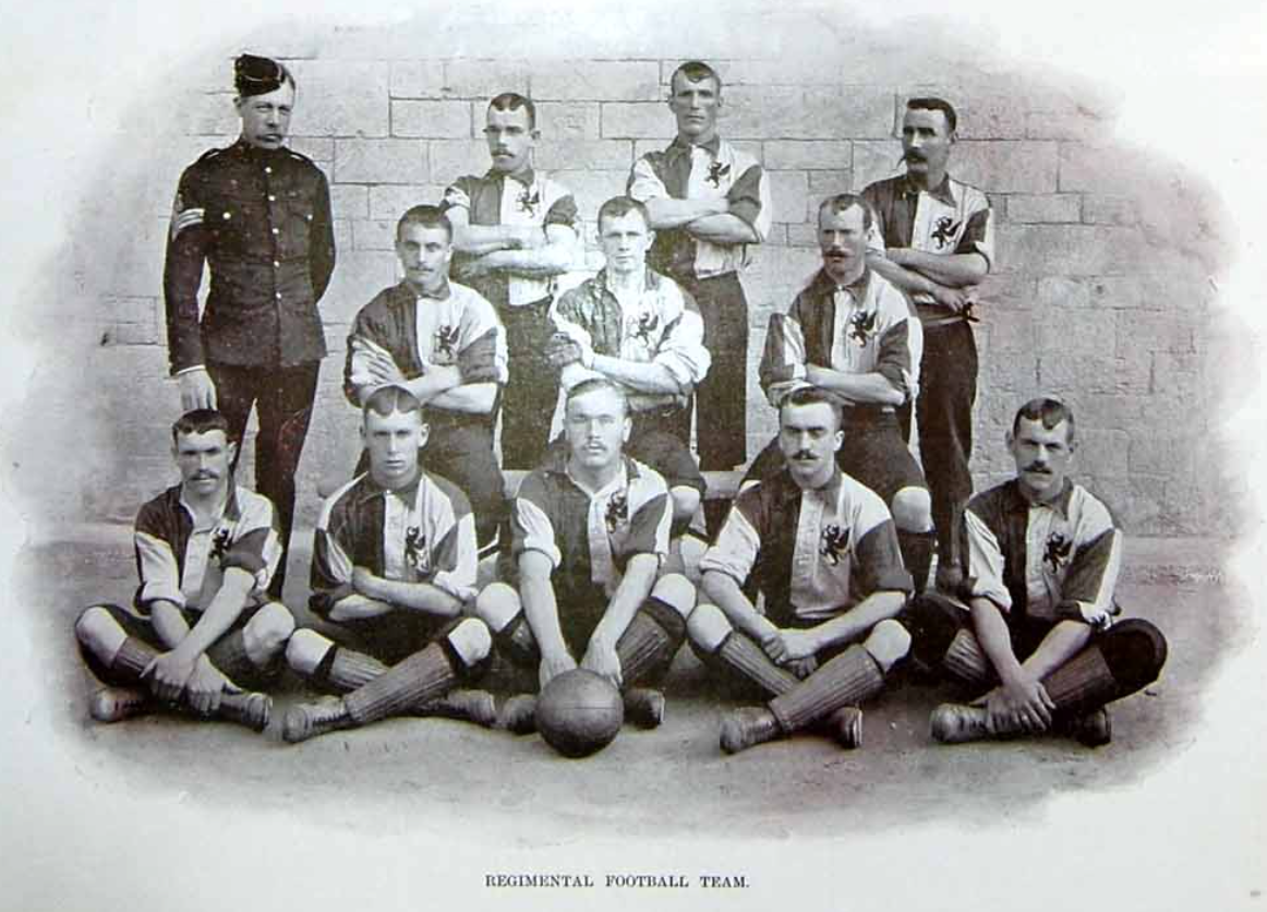 Royal Welch Fusiliers 1896