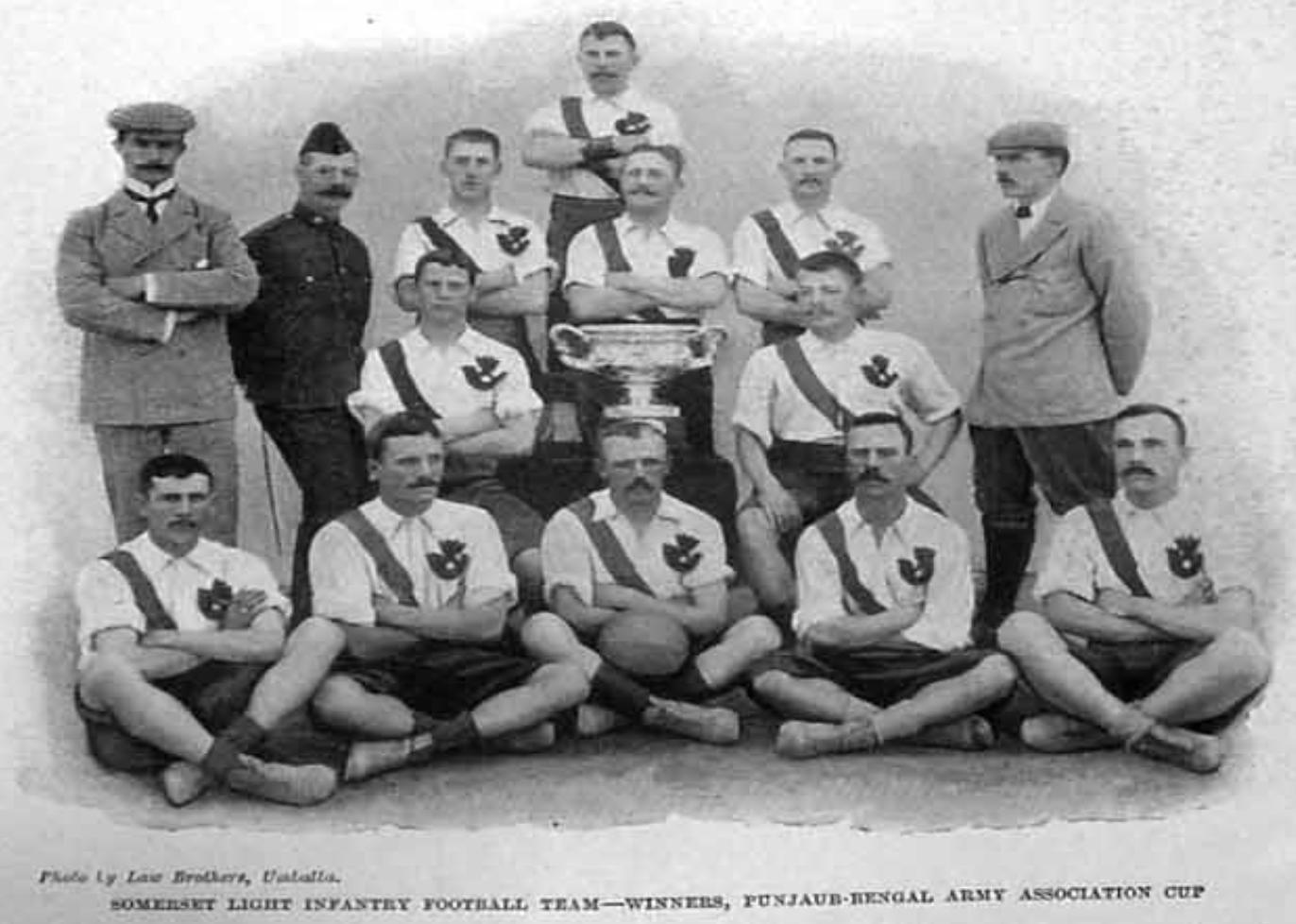 Somerset Light Infantry 1899